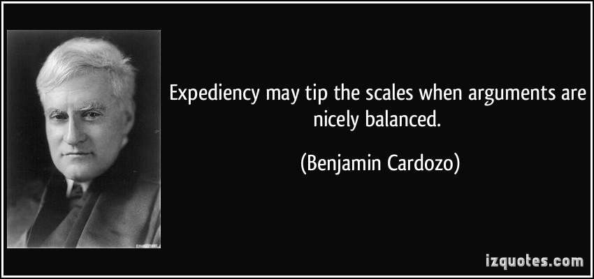 Benjamin Cardozo's quote #1