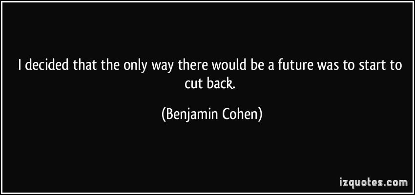 Benjamin Cohen's quote #5