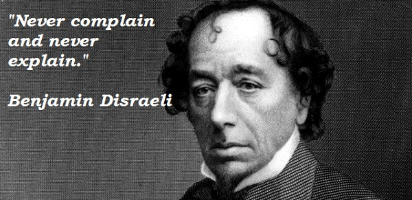 Benjamin Disraeli's quote #5