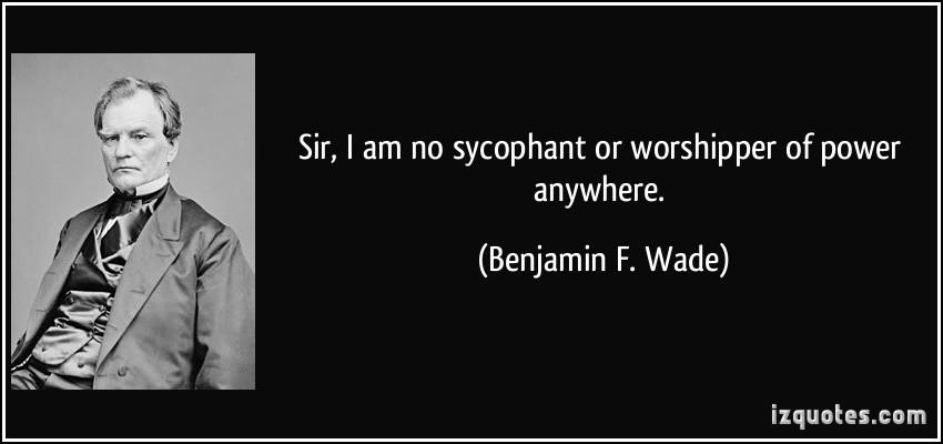 Benjamin F. Wade's quote #1