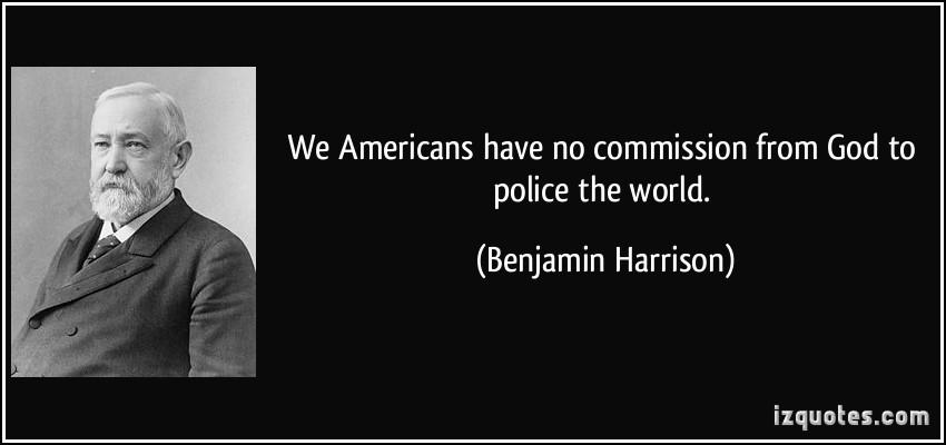 Benjamin Harrison's quote #2