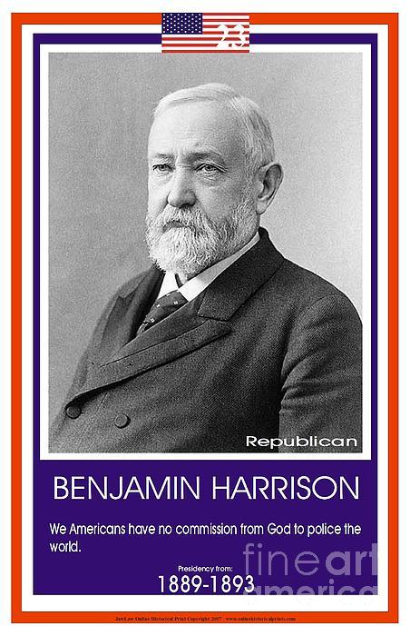 Benjamin Harrison's quote #3