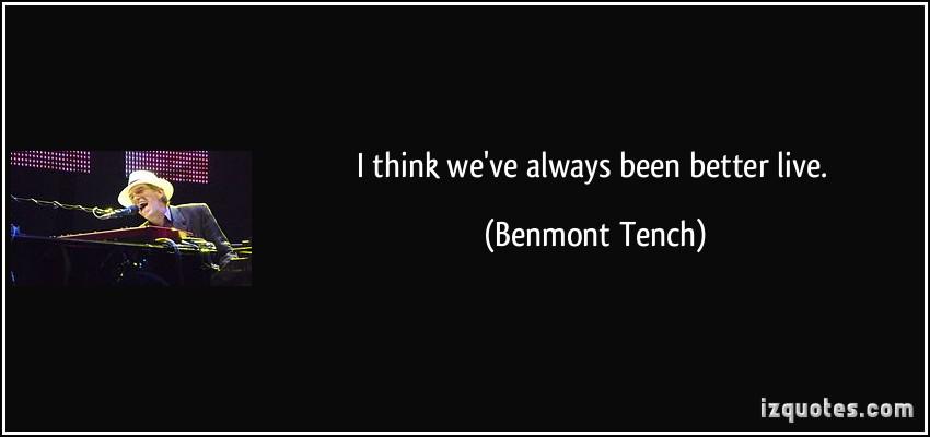 Benmont Tench's quote #5
