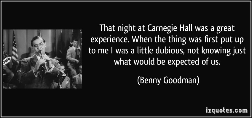 Benny Goodman's quote #4