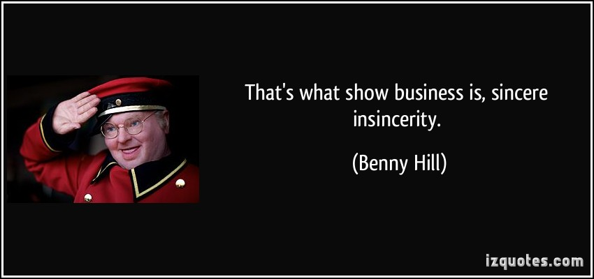 Benny Hill's quote #1
