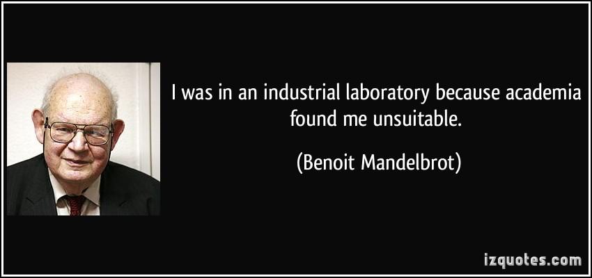 Benoit Mandelbrot's quote #3