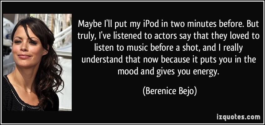 Berenice Bejo's quote #2