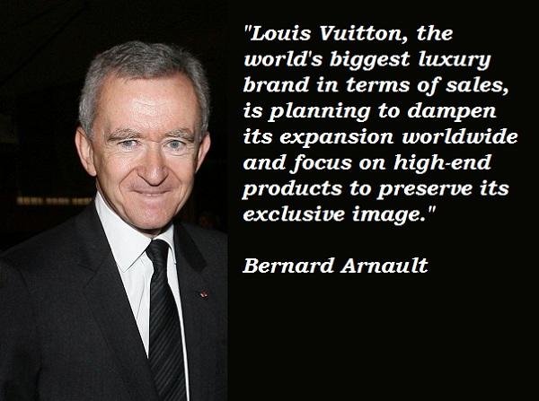 Bernard Arnault's quote #5