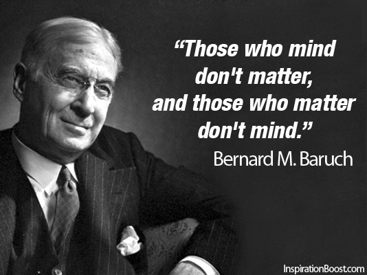 Bernard Baruch's quote #2