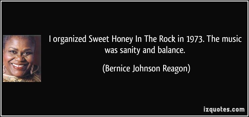 Bernice Johnson Reagon's quote #5