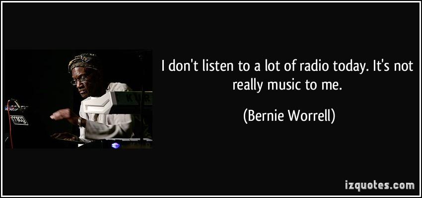 Bernie Worrell's quote #3