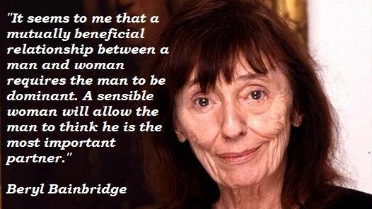 Beryl Bainbridge's quote