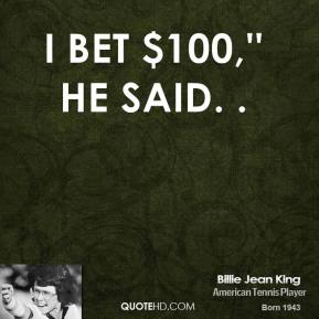 Bet quote #2