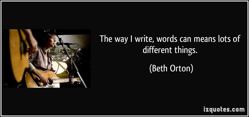 Beth Orton's quote #3
