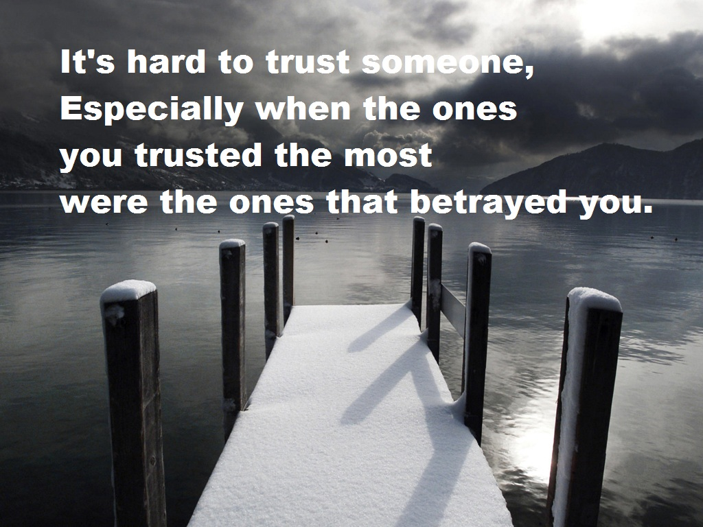 Betraying quote #1