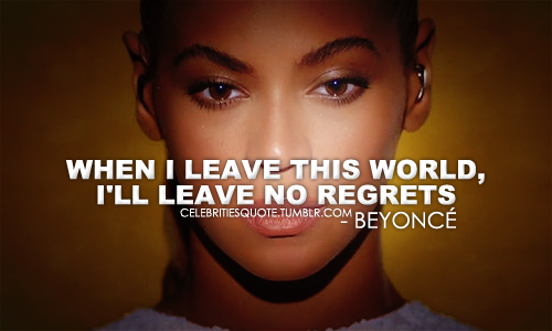 Beyonce quote #1