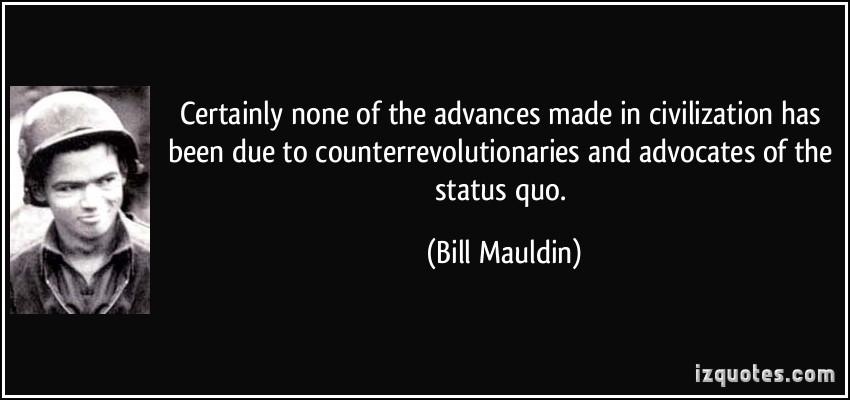 Bill Mauldin's quote #2
