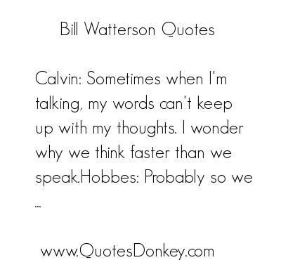 Bill Watterson's quote #3