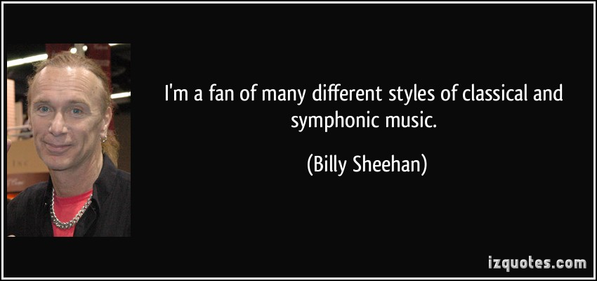 Billy Sheehan's quote