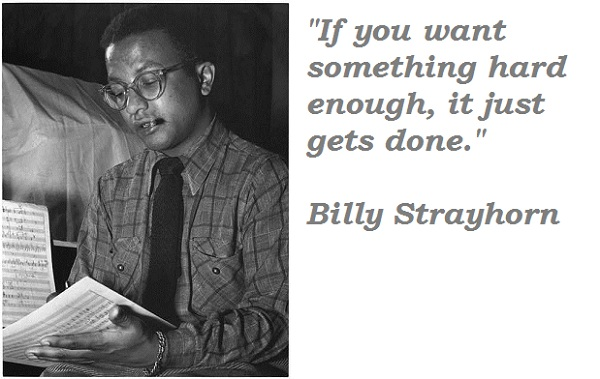 Billy Strayhorn's quote #2