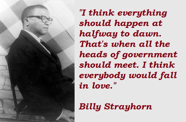 Billy Strayhorn's quote #4