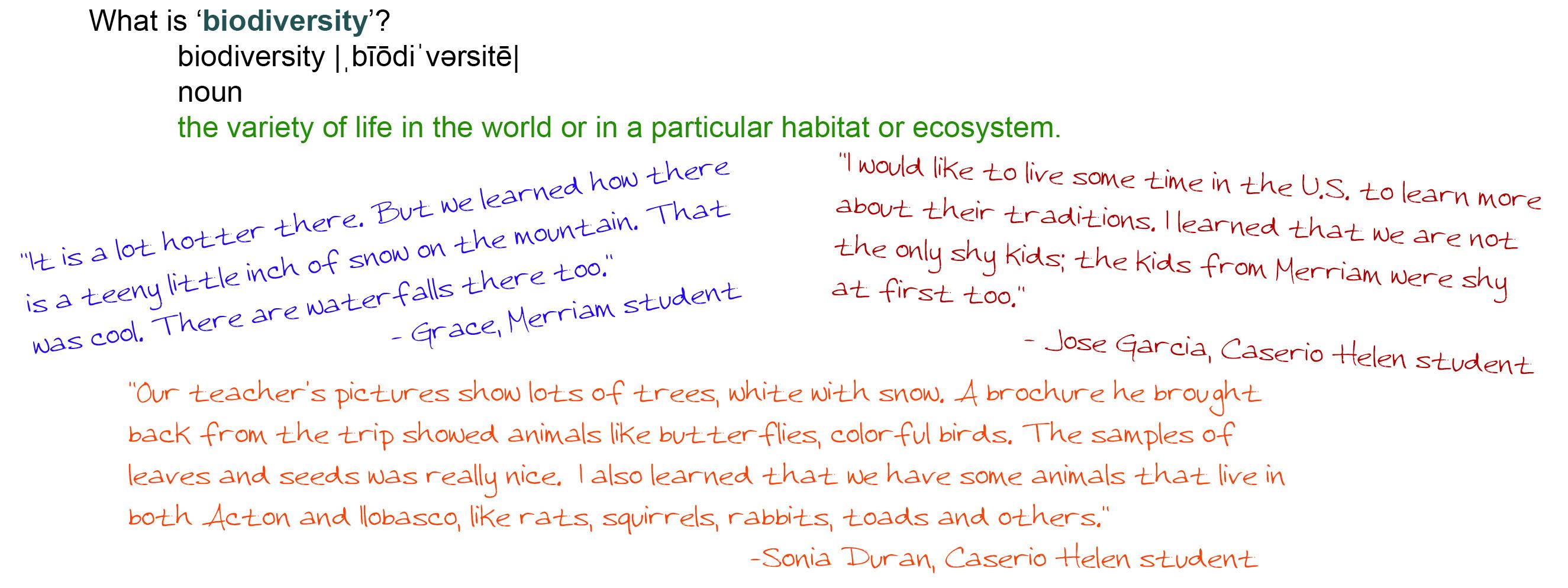 Biodiversity quote #1