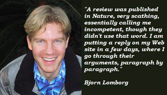 Bjorn Lomborg's quote #8