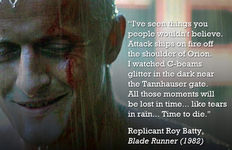 Blade Runner quote #2