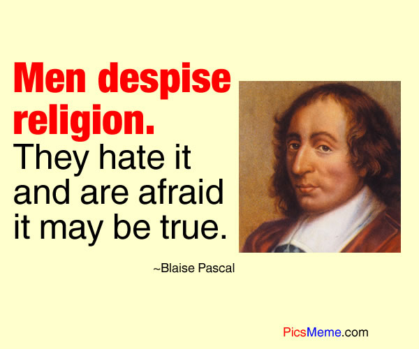 Blaise Pascal's quote #2