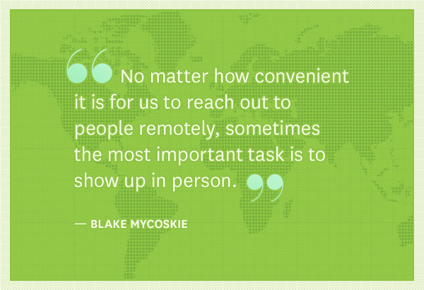 Blake Mycoskie's quote #3