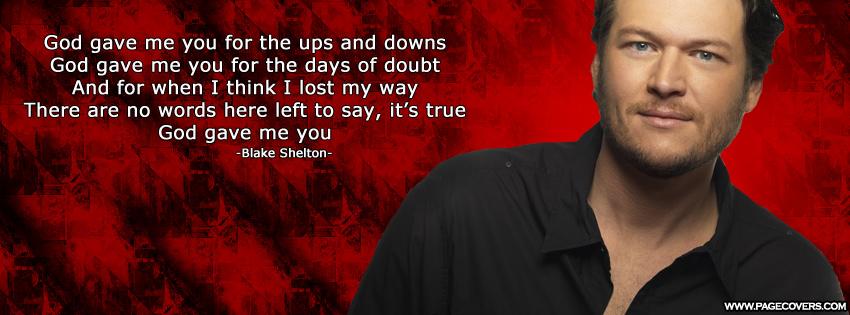 Blake Shelton's quote