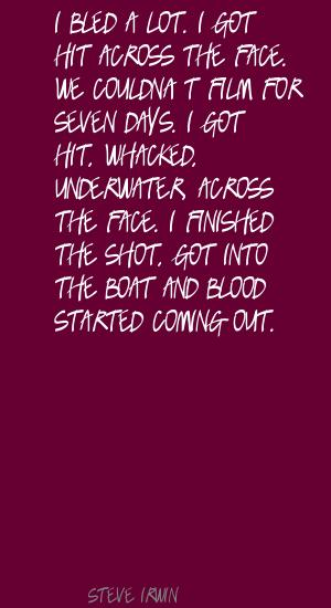 Bled quote #2