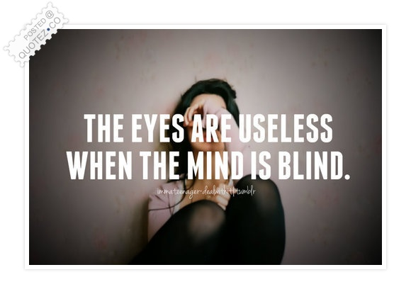Blind quote #3