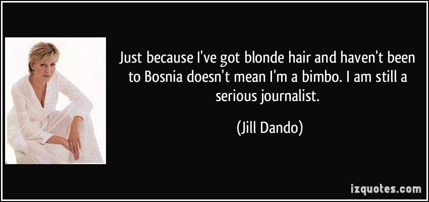 Blond Hair quote #2
