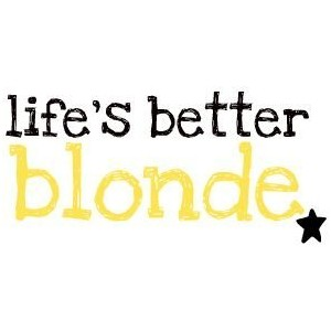 Blond quote #1