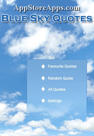 Blue Sky quote #2