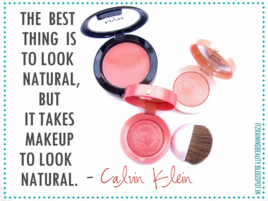 Blushes quote #2