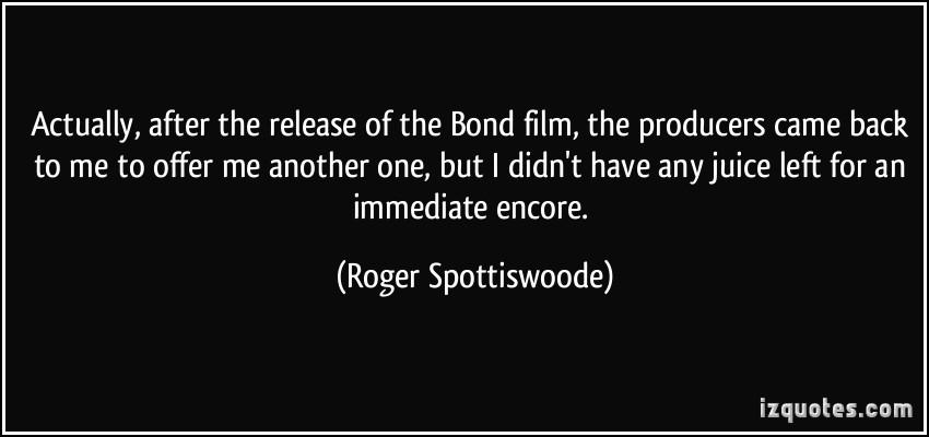 Bond Film quote #1