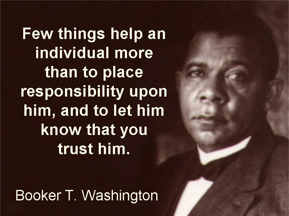 Booker T. Washington's quote #1