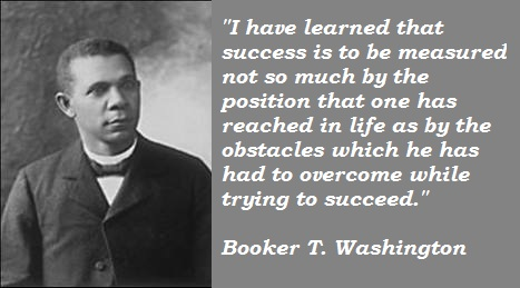 Booker T. Washington's quote #4