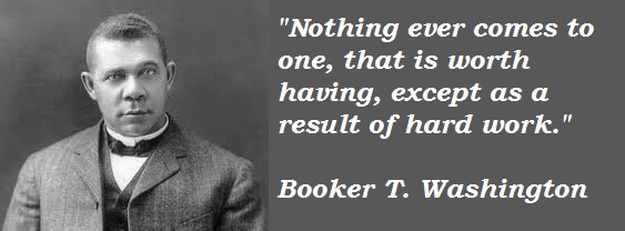 Booker T. Washington's quote #6