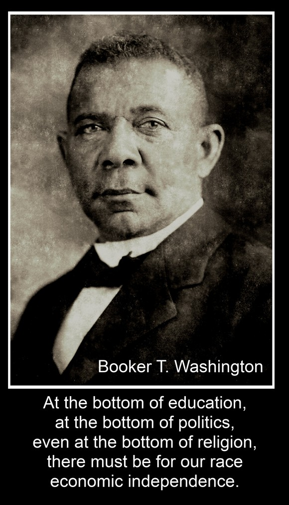 Booker T. Washington's quote #7