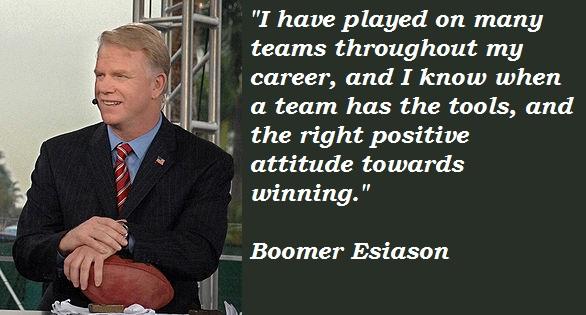 Boomer Esiason's quote #2