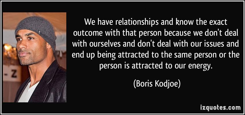 Boris Kodjoe's quote #4