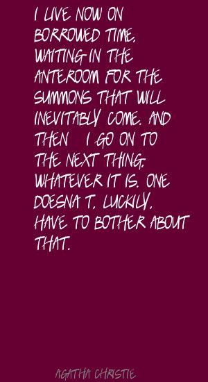Borrowed quote #1