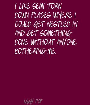 Bothering quote #1