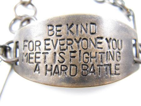 Bracelet quote #1