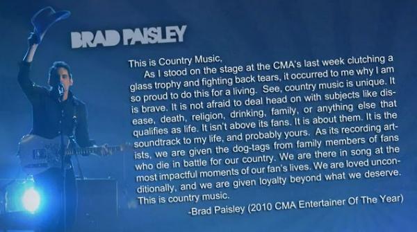 Brad Paisley's quote #8