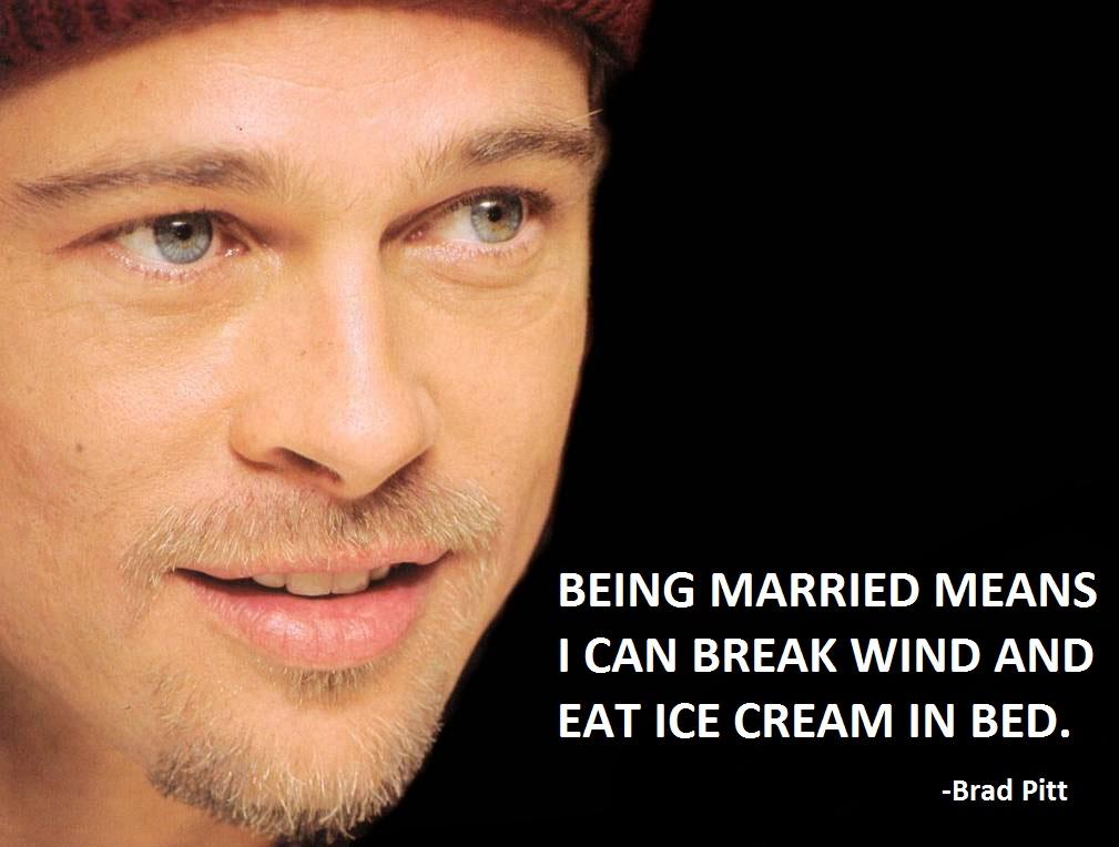 Brad Pitt quote #2
