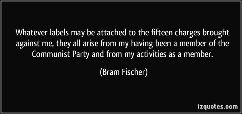 Bram Fischer's quote #1